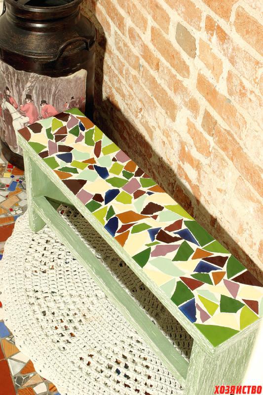 Садовая мозаика своими руками. Для дачников. ру 32