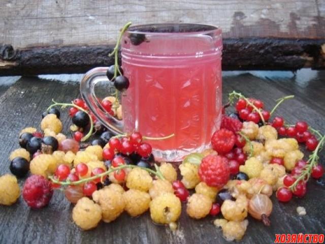 Компот из малины, вишни и смородины.jpg