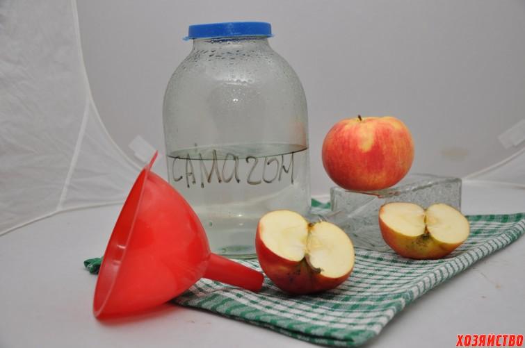 Самогон на яблоках.JPG