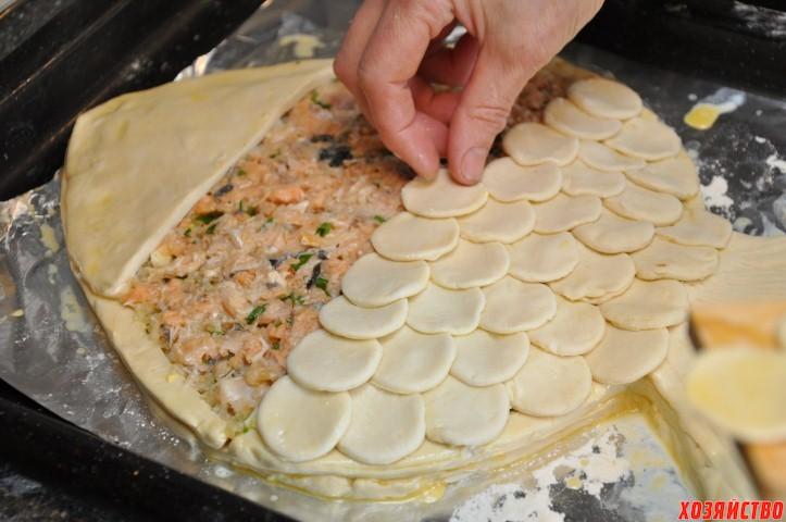 Как сделать пирог в форме