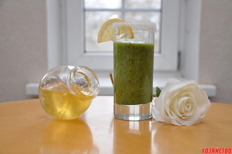 Зеленый смузи для похудения.JPG