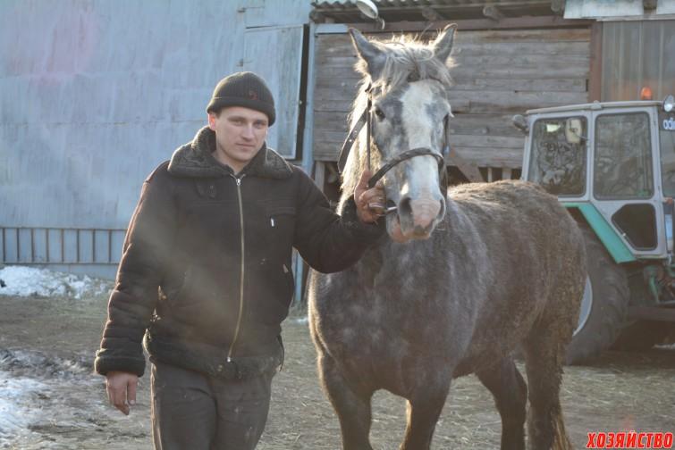 Иван Стрекозов Сколько себя помню, у нас всегда была лошадь.JPG