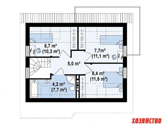 Классический каркасный мансардный дом-Z212-Z212_2 этаж_png.jpg