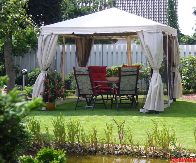 Дачный шатер вместо беседки_1.jpg