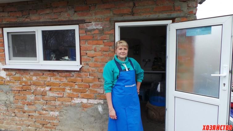 Фермерша Наталья Вольченко.JPG