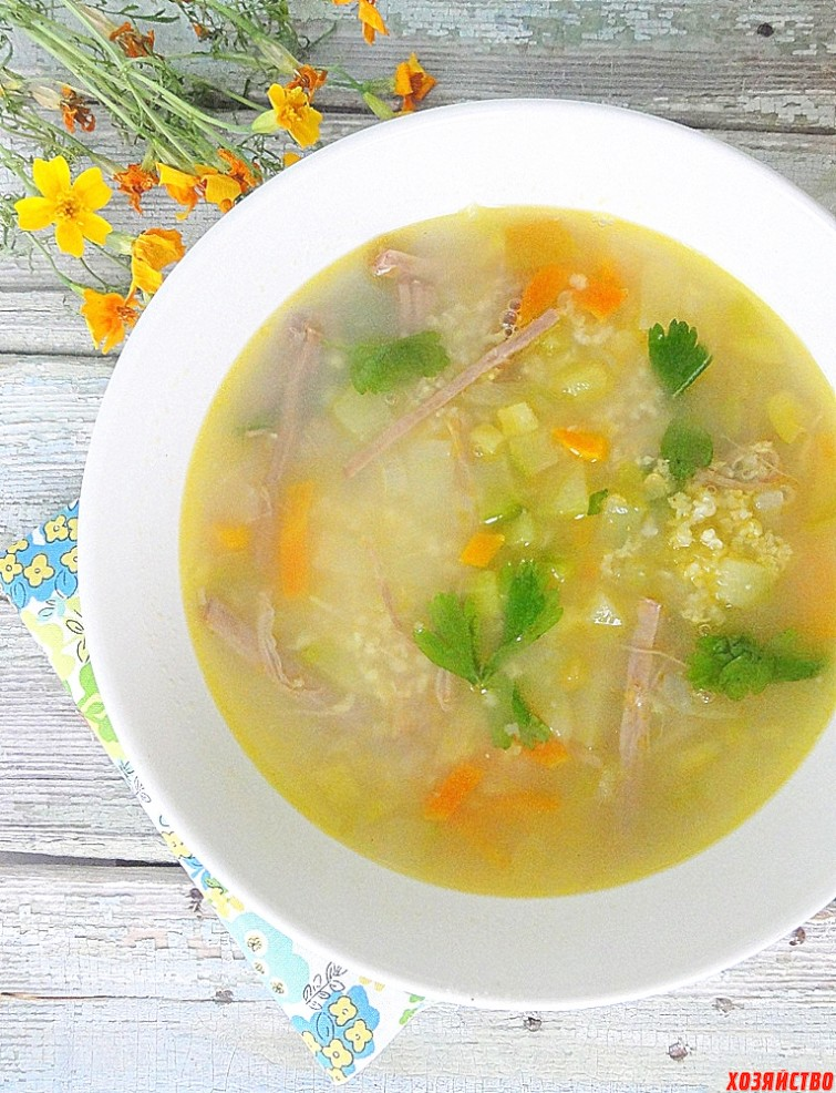 Крестьянский суп с крупой.JPG