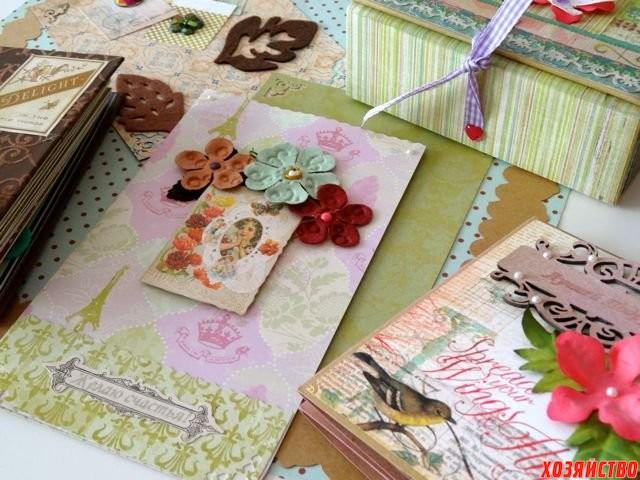 Изготовление открыток, фотоальбомов ручной работы.jpg