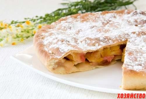 Цветаевский пирог с антоновскими яблоками.jpeg