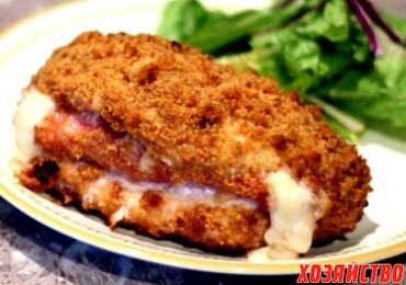 Филе рыбы в хрустящей корочке из сыра