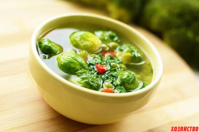 суп брюссельская капуста