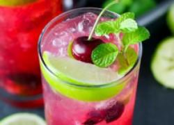 Вишневый мохито для летней вечеринки