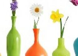 Как почистить узкую вазу