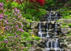 Как своими руками создать ручей или водопад