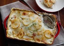Блюда с грибами и картофелем от Александры Аверченко
