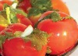 Быстрое приготовление маринованных помидоров