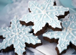 Десерт «Снежинки»