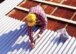 Ремонт обветшавшей шиферной крыши