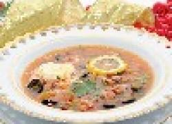Солянка мясная - коронное блюдо первого января