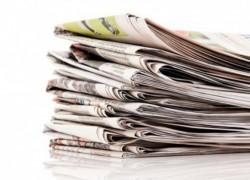 Чтение газет сново входит в привычку
