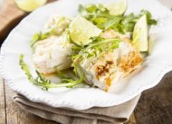 Рецепт рыбы на гриле с шафрановым соусом