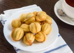 Орешки с вареной сгущенкой из детства