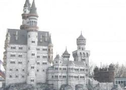 Диснеевский замок из уральского камня