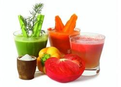 От кашля – овощные соки с медом