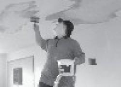 Как самому выровнять потолок