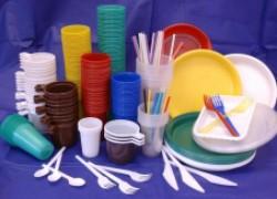 Бумажная и пластиковая посуда