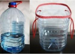 Ведерко из пластиковой бутылки