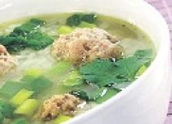 Мясной суп с пшеничной крупой (армянская кухня)