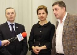 Встреча Олега Пахолкова с кандидатом на пост главы Гагаузии Ириной Влах