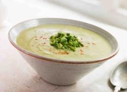 Суп-пюре из фасоли