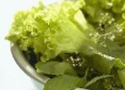 Зелёные овощи улучшают зрение