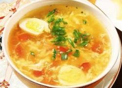 Куриный суп с мягким сыром