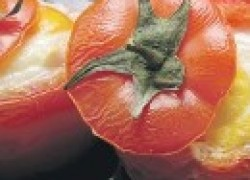 Омлет в помидорках