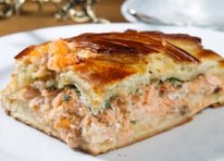 Пирог с семгой от Ольги Дибцевой