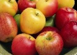 Яблоко румянит купорос