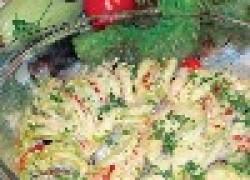 Овощная запеканка «радуга»