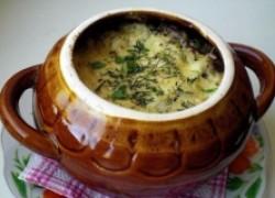 Белокочанная капуста с яйцом и сыром