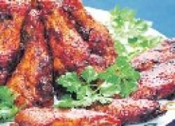 Кулинария: Крылышки в медово-соевом соусе
