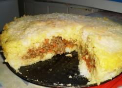 Рисовая запеканка с печенкой