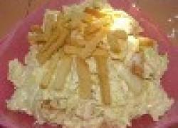 Салат «Антонио» с сухариками