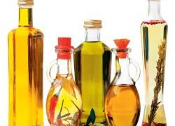 Растительное масло и известь от ожогов