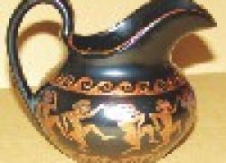 Античная ваза из старого соусника
