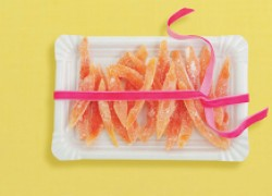 Цукаты из кожуры грейпфрута