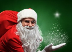 Как пьяный Дед Мороз однажды к нам в гости пришел