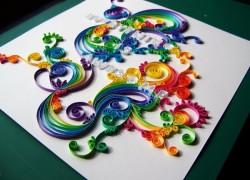 Квиллинг - творчество из бумаги