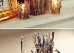 5 простых способов декора свечей к Новому году