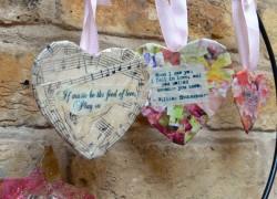 Мастер-класс: Декупаж сердечек ко дню святого Валентина